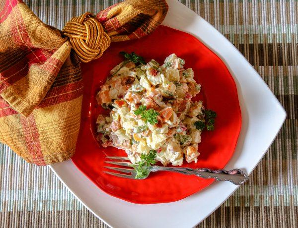 Dijon Caribbean Sweet Potato Salad