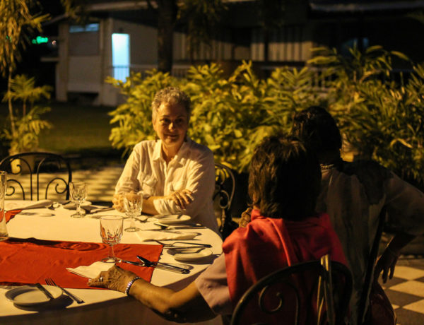 Dinner at Zazou Bistro Moderne
