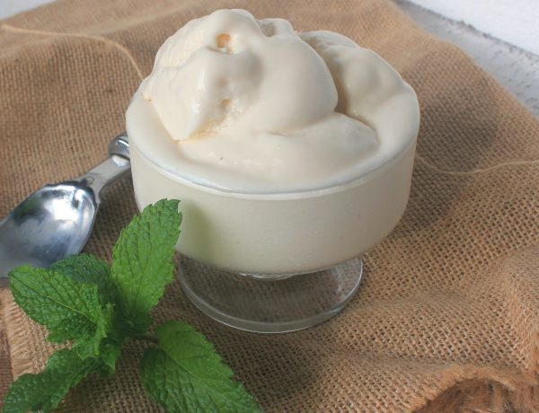 Haitian Coconut Ice Cream