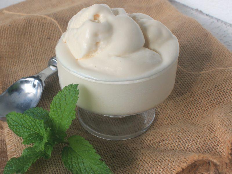 Haitian Coconut Ice Cream