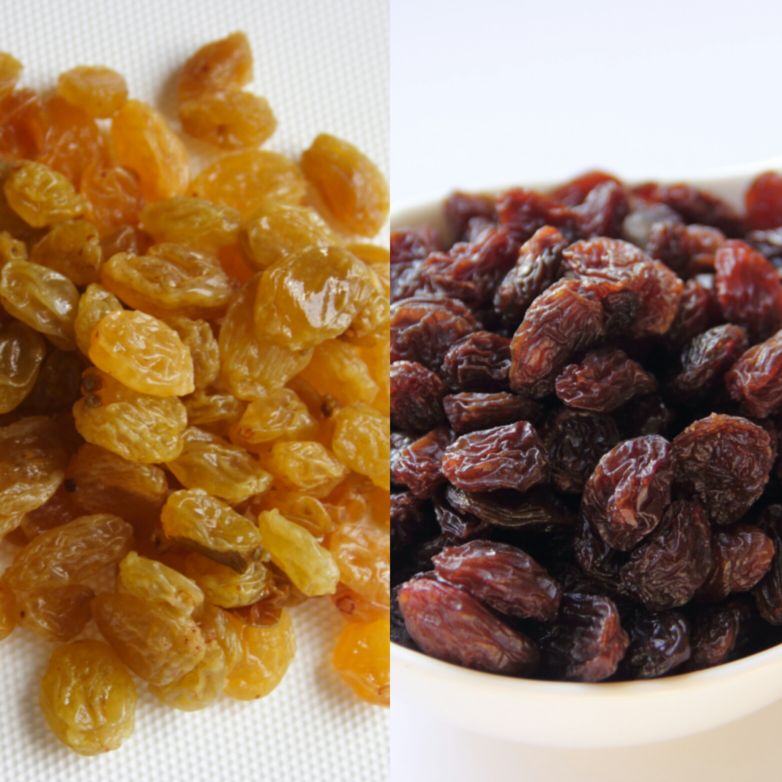 Currants vs. Raisins By Cynthia Nelson/Images© Cynthia Nelson