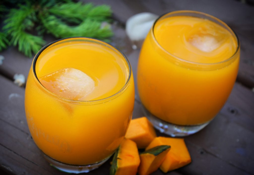 Pumpkin-Pineapple Cooler