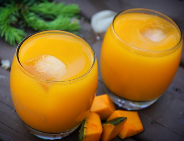 Pumpkin Pineapple Cooler