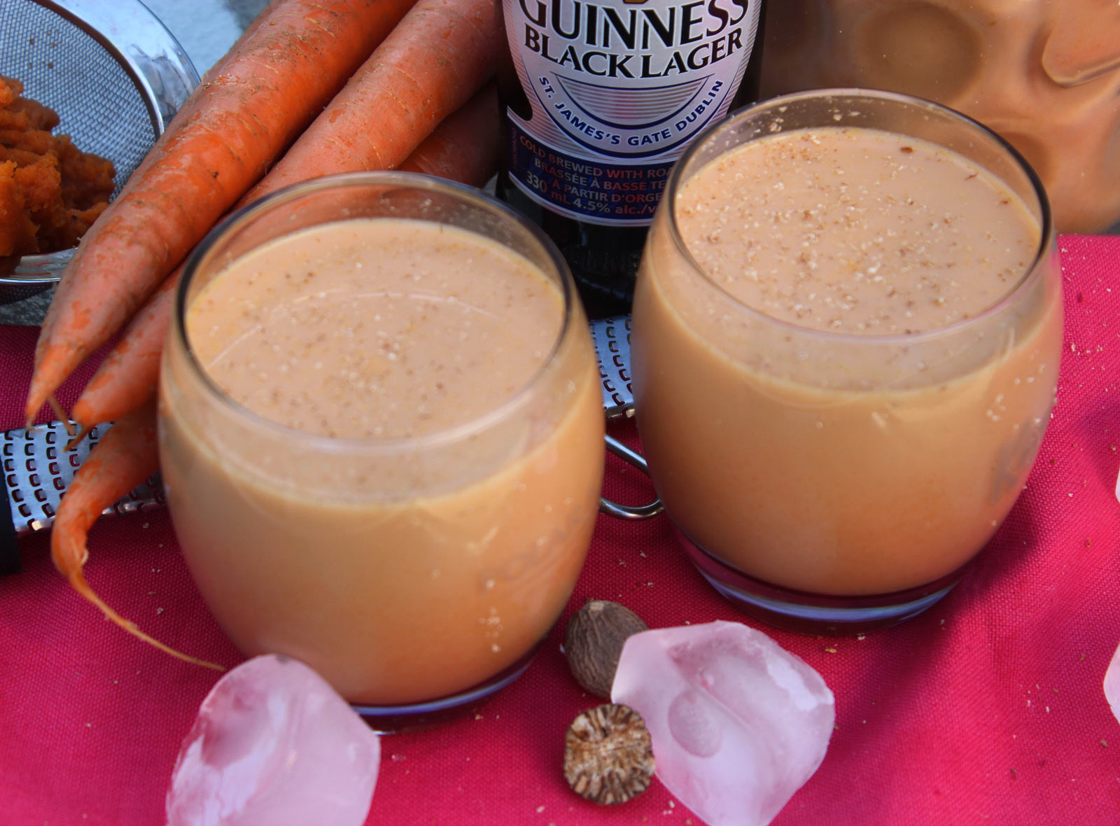 Jamaican Carrot Juice With Guinness