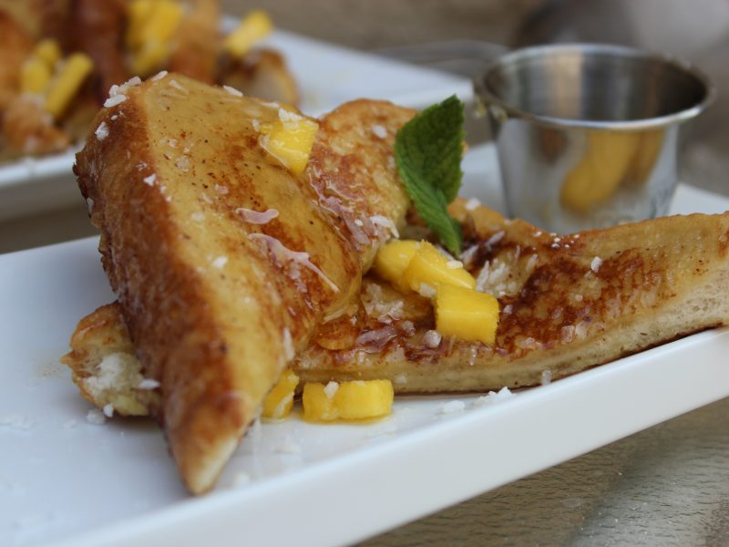 Tropical French Toast with Mango Compote – Cooking Sense ...