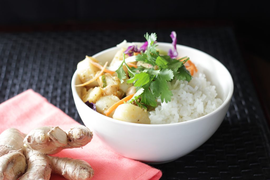 Ginger Seafood Curry