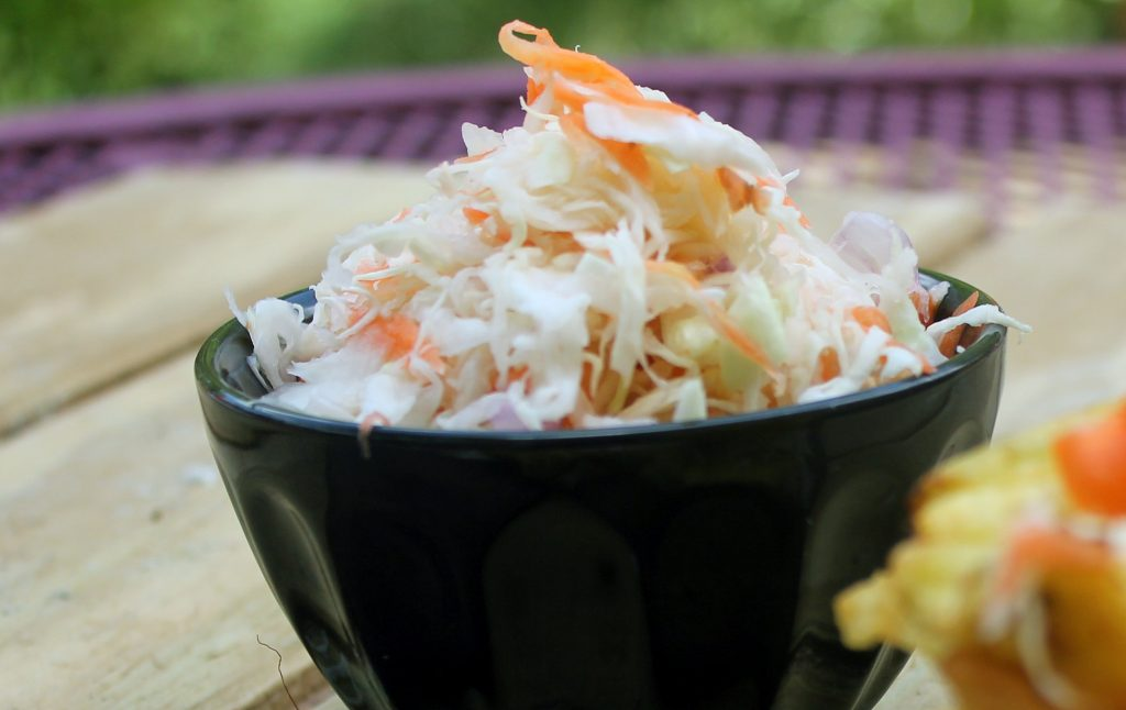 Haitian foods - Spicy Pickled Slaw)