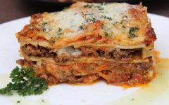 Cheesy Jerk Beef Lasagne