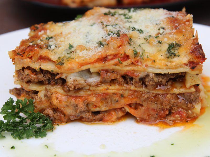 Cheesy Jerk Beef Lasagne