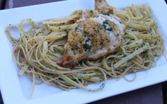 Simple Fettuccine with Chicken Supreme