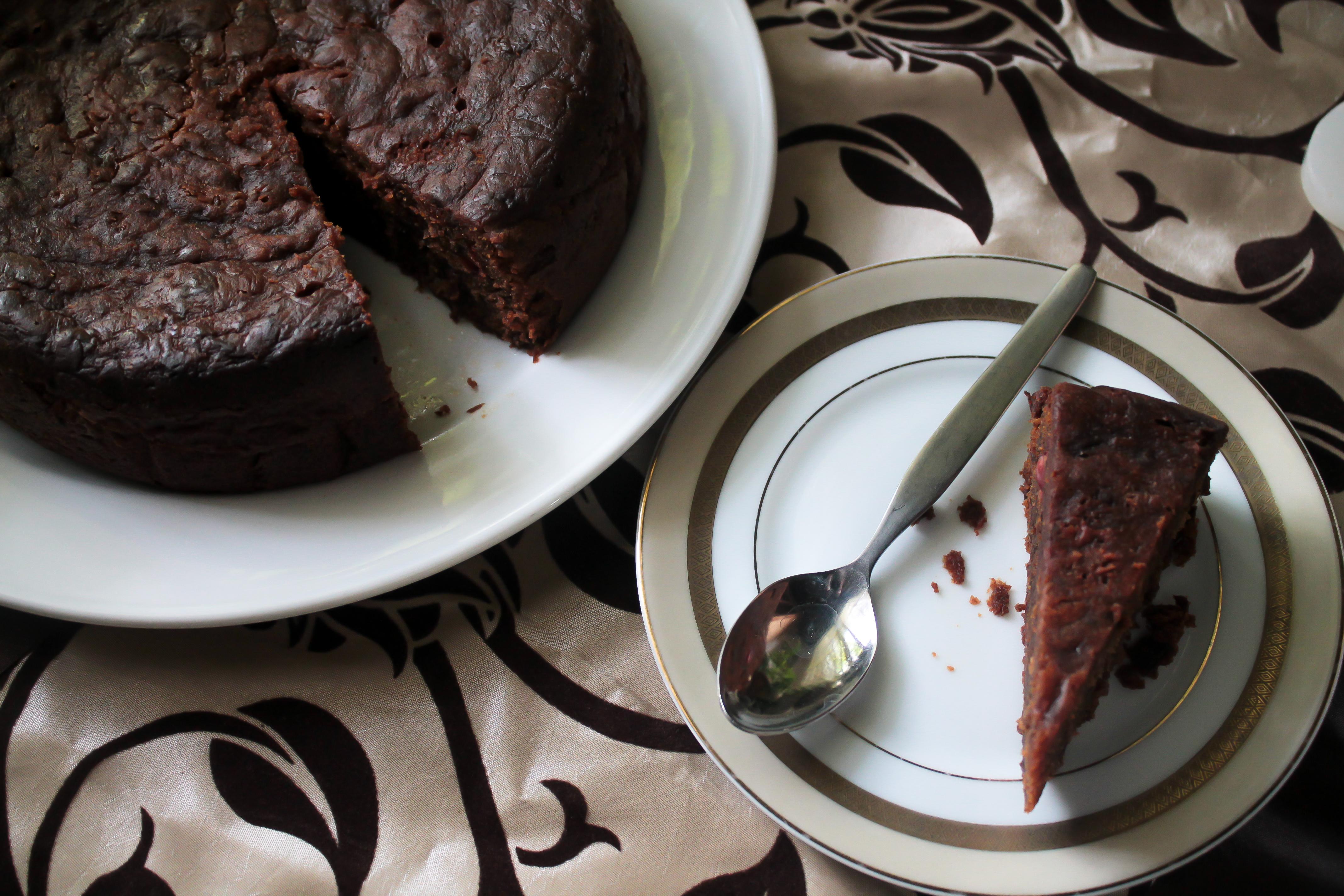Gluten-free black cake