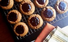 Sorrel Thumbprint Cookies