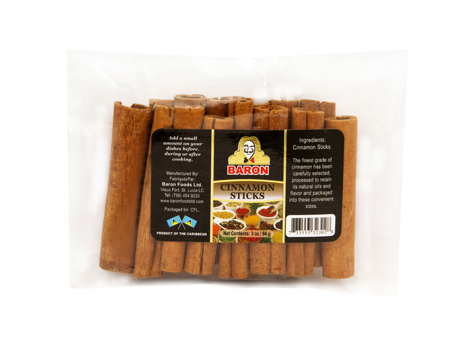 Baron Cinnamon Sticks - Pepperpot