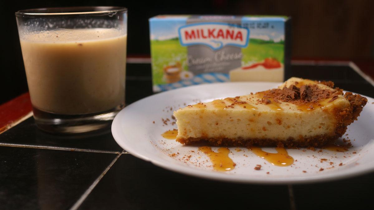 Ponche de creme cheesecake