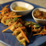 Curry & Massala Chicken Skewer